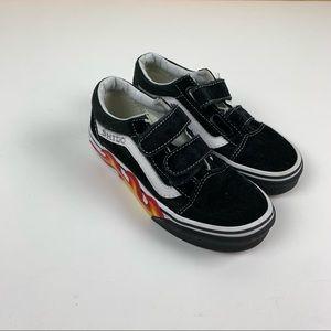 Vans Old Skool V Flame size 13